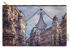 Vintage Vienna Carry-all Pouch by Carol Japp