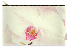 Vintage White Orchids Carry-all Pouch