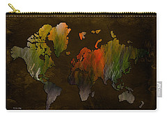 Vintage World Carry-all Pouch by Randi Grace Nilsberg