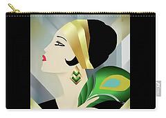 Vinttage Vogue Cover April 1929 Carry-all Pouch