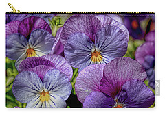 Carry-all Pouch featuring the photograph Viola by Bonnie Willis