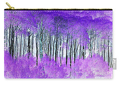 Violet Aspens Carry-all Pouch