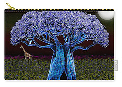 Violet Blue Baobab Carry-all Pouch