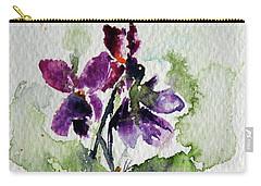 Violet Iv Carry-all Pouch by Kovacs Anna Brigitta