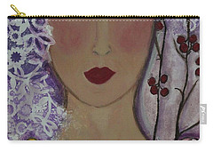 Violet Queen Carry-all Pouch