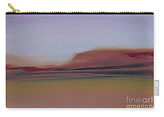 Carry-all Pouch featuring the painting Violet Skies by Michelle Abrams