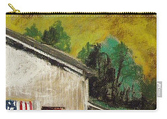 Carry-all Pouch featuring the painting Violet Summer by John Williams