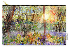 Violet Sunrise Carry-all Pouch