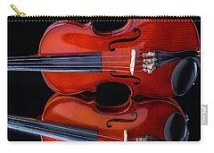 Violin Reflection Carry-all Pouch by Garry Gay