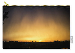 Virga And Sunrise Carry-all Pouch by Karen Slagle