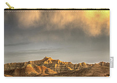 Virga Over The Badlands Carry-all Pouch by Fiskr Larsen