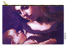 Virgin Mary And Baby Jesus, The Greatest Gift Carry-all Pouch