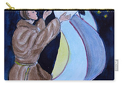 Virgin Mary With Jesus And St Anthony Carry-all Pouch