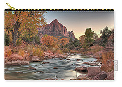 Virgin River And The Watchman Carry-all Pouch