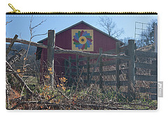 Virginia Barn Quilt Series Xxi Carry-all Pouch