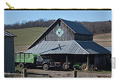 Virginia Barn Quilt Series Xxii Carry-all Pouch