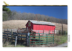 Virginia Barn Quilt Series Xxiv Carry-all Pouch
