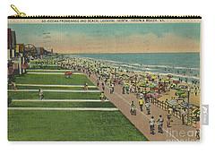 Virginia Beach Ocean Front Boardwalk Carry-all Pouch