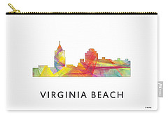 Virginia Beach  Virginia Skyline Carry-all Pouch