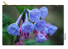 Blue Bells Carry-all Pouch by William Tanneberger