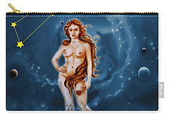 Virgo And The Stars Carry-all Pouch