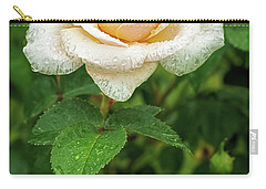 Carry-all Pouch featuring the photograph Virtue Of Pureness by Ken Stanback