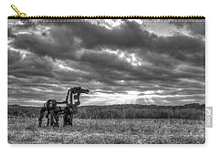 Visible Lights The Iron Horse Sunrise Art Carry-all Pouch