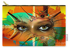 Carry-all Pouch featuring the digital art Vision by Shadowlea Is