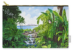 Visions Of Paradise Ix Carry-all Pouch