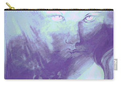 Carry-all Pouch featuring the painting Visions Of The Night by Denise Fulmer
