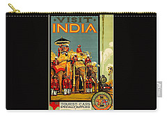 Visit India The Great Indian Peninsula Railway II 1920s A R Acott Carry-all Pouch