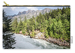 Carry-all Pouch featuring the photograph Visit Montana by Margaret Pitcher