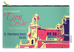 Visit The Don Cesar Carry-all Pouch