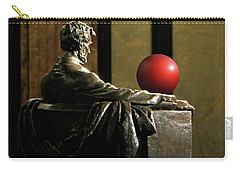 Carry-all Pouch featuring the photograph Visiting Lincoln by Christopher McKenzie