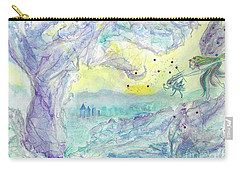 Visitors Carry-all Pouch by Veronica Rickard