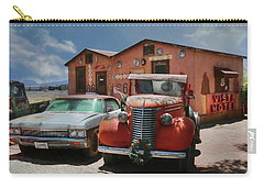 Carry-all Pouch featuring the photograph Vista Motel by Lori Deiter