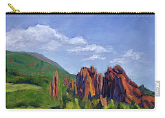 Vista Of The Gods Carry-all Pouch