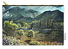 Vista View Of Cannon Mountain Carry-all Pouch