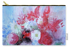 Vitality Still Life Carry-all Pouch by Jasna Dragun