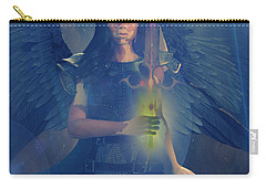 Vitiligo Angel Carry-all Pouch by Suzanne Silvir