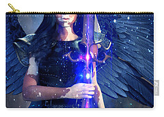 Vitiligo Angel2 Carry-all Pouch by Suzanne Silvir