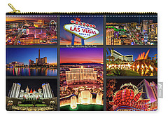 Viva Las Vegas Collection Carry-all Pouch