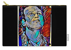 Vivian Campbell Nj 2016 #2 Carry-all Pouch by Luisa Gatti
