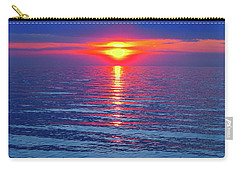 Vivid Sunset - Square Format Carry-all Pouch by Ginny Gaura