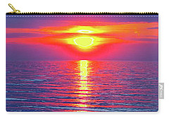 Vivid Sunset - Vertical Format Carry-all Pouch by Ginny Gaura