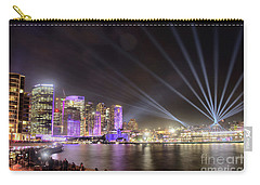 Vivid Sydney Skyline By Kaye Menner Carry-all Pouch