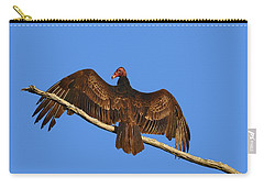 Carry-all Pouch featuring the photograph Vivid Vulture .png by Al Powell Photography USA