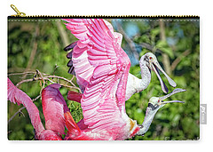 Vocal Roseate Spoonbill Mates Carry-all Pouch