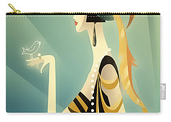 Vogue - Bird On Hand Carry-all Pouch