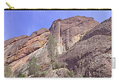Carry-all Pouch featuring the photograph Volcanic Colors by Art Block Collections